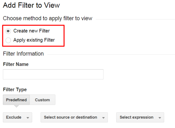 New Or Existing Filter